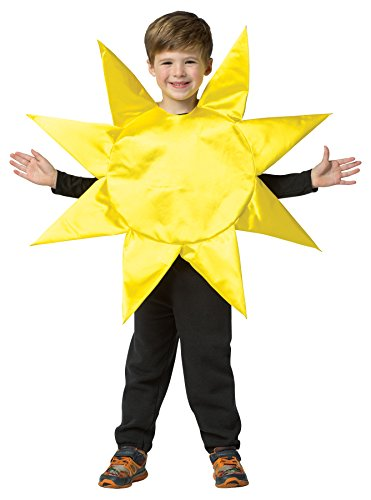 Sun Halloween Costume Toddler (UHC Boy's Sunny Day Sun Outfit Funny Theme Child Halloween Costume, Child S (4-6X))