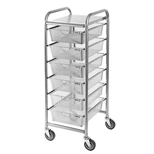 Review Seville Classics 6-Drawer Steel