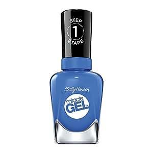 Sally Hansen Miracle Gel Nail Polish, Byte Blue, 0.5 Ounce
