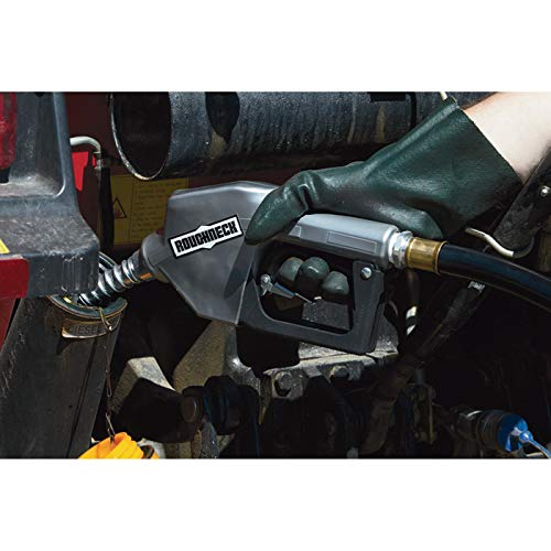 Roughneck Automatic Shutoff Fuel Nozzle — 3/4in. Inlet Port, 13/16 O.D. Spout, 7-12 GPM