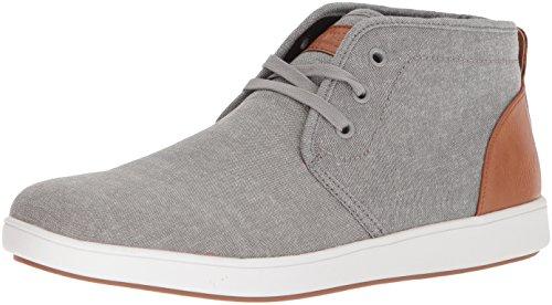 Steve Madden Mens Tessuto Grigio Ferrin Sneaker