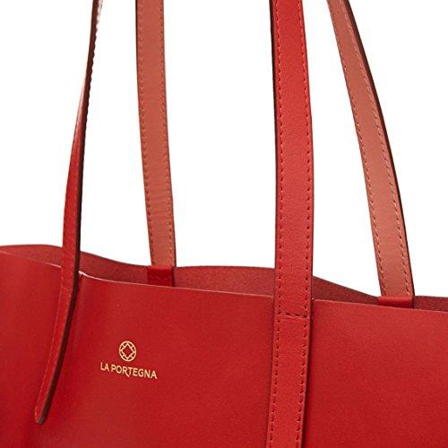 La Tote Olivia Portegna Borse Tracolla Rosso A 8PZNOwn0kX