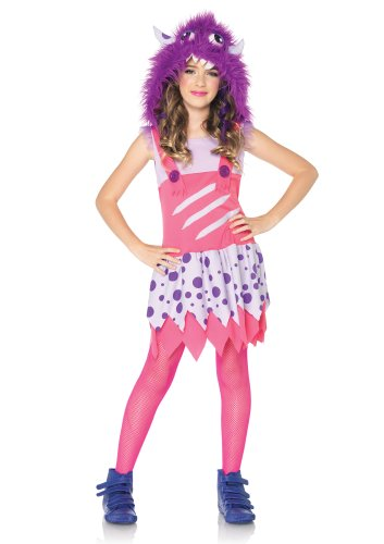 Leg Avenue Furball Fergie Furry Monster Costume, Pink/Purple, Medium]()