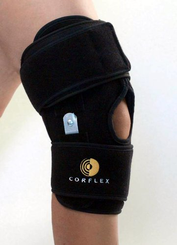 Cryo Pnuematic Knee Orthosis W/Hinge - w/ROM Hinge - Two Gel Pack