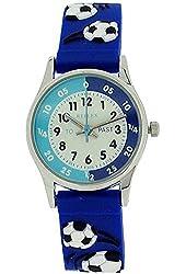 Reflex Boys Time Teacher Blue Football Strap Watch REFK0007