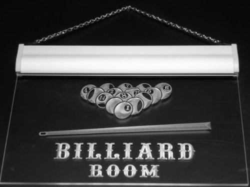 ADV PRO s082-b Billiard Pool Room Bar Beer Neon Light Sign