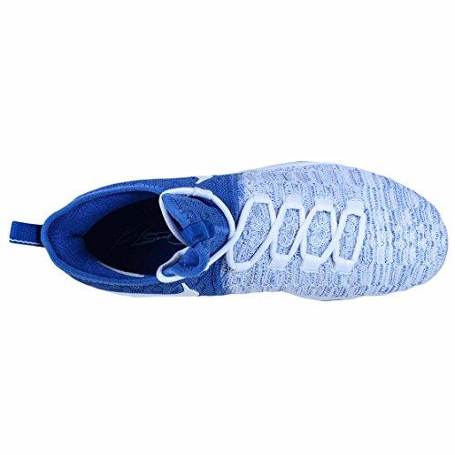 Nike Mens Kevin Durant Kd Viii Basketskor Spel Royal / Vit 843392-411 Storlek 12