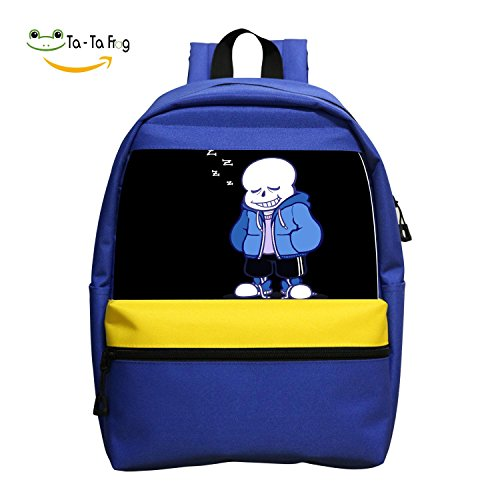 Undertale Sans Funny Zzzz Diaper Bags Print Student Backpacks School Bags Book Bag For Children Boys Girls