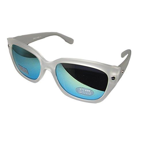 Ibiza Sol Unisex Satinado Lentes Transparente Pacha OUTLETISSIMO Espejo Gafas New de de Blanco London Disco Wayfarer Zxq8CwEn