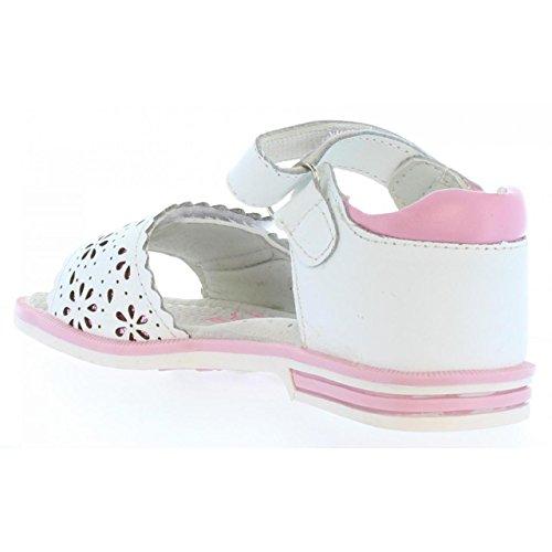 Sandales pour Fille URBAN B132524-B2579 WHITE