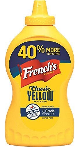 French's Classic 100% Natural Yellow Mustard, 20 - Mustard Yellow Classic Frenchs