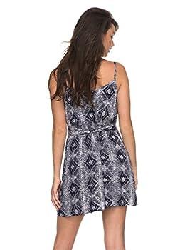 Roxy Womens Roxy Drifting Current - Strappy Wrap Dress - Women - S - Blue Dress Blue Chamane Voice S 2