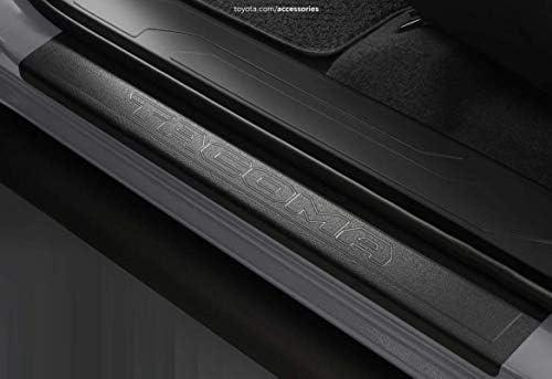 Auto Ventshade 91021 Stepshield Black Door Sill Protector 4-Piece Set for 2005-2015 Toyota Tacoma Access Cab