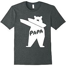 Mens Dabbin' Papa Bear T-Shirt