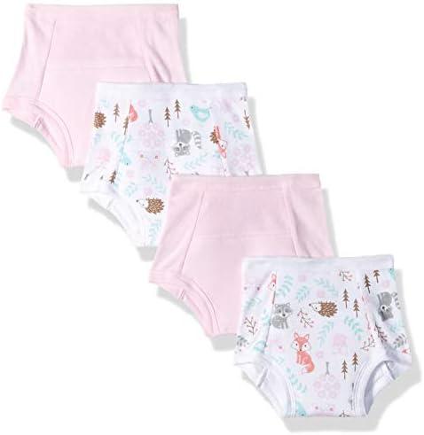 4-Pack Woodland Creatur Hudson Baby Boy Toddler Water Resistant Training Pants