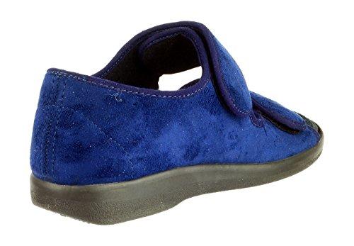 GBS MED , Chaussons pour femme Bleu Bleu marine 45