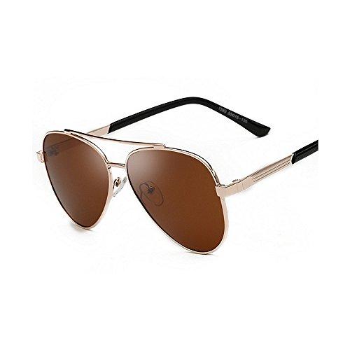 SunglassesMAN Métal Mode Black Polarisées Conduisant de Hommes Chaude Cadre Lunettes pour Brown Yxsd Hommes Couleur Soleil rXrqH
