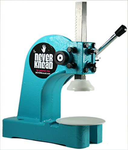 NEW Polymer Clay Kneading Machine Tool - NEVERknead for ARTISTS Sculpey Fimo Kato & MORE by NEVERknead
