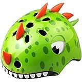 TITST Casco para niños, Edad 2-13 años, Cascos de Dinosaurio 3D de Animales de Dibujos Animados, Ajustable Juventud…