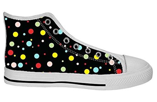 Damesschoenen Hoge Top Schoenen Art Design Pattern Shoes39