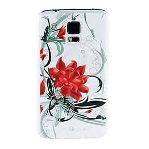 FJM Kinston Blossoms Of Flowers Pattern Plastic Hard Case for Samsung S5 I9600