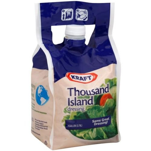 Kraft Thousand Island Dressing, 1 Gallon -- 4 per case. by Kraft