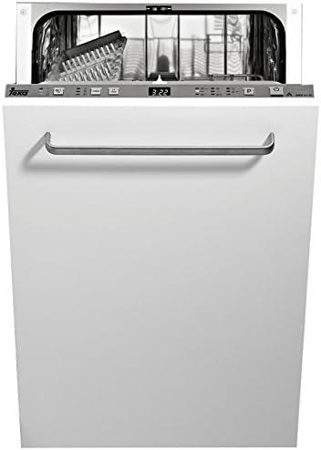 Teka DW8 41 FI Totalmente integrado 10cubiertos A++ lavavajilla - Lavavajillas (Totalmente integrado, Acero inoxidable, Botones, 10 cubiertos, 49 dB, A)