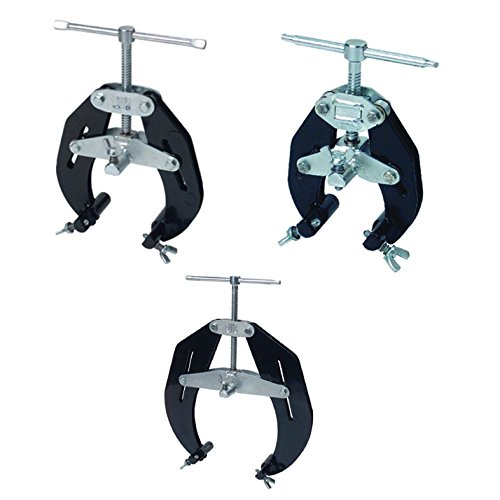 Sumner 781170 5''-12'' Ultra Clamp Bundle w/ 781150 2'' - 6'' Ultra Clamp and 781130 1'' - 2-1/2'' Ultra Pipe Clamp (3 Items) by Sumner