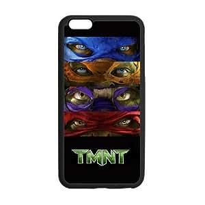 Teenage Mutant Ninja Turtle Custom Durable Hard Cover Case for iPhone 6 - 4.7 inches case - Black Case