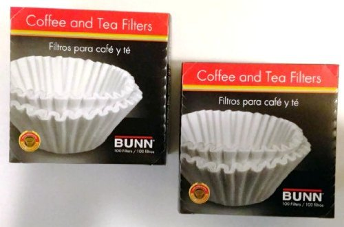 Boxes Bunn Coffee Filters 100 Model