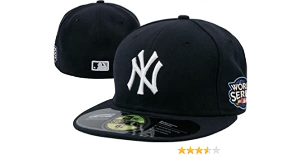 9f7c813ea0a Amazon.com   New York Yankees 2009 World Series On-Field 59FIFTY Fitted Hat    Baseball Caps   Sports   Outdoors