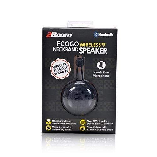Galleon - 2BOOM Eco Go Mini Wireless Speaker FM Radio