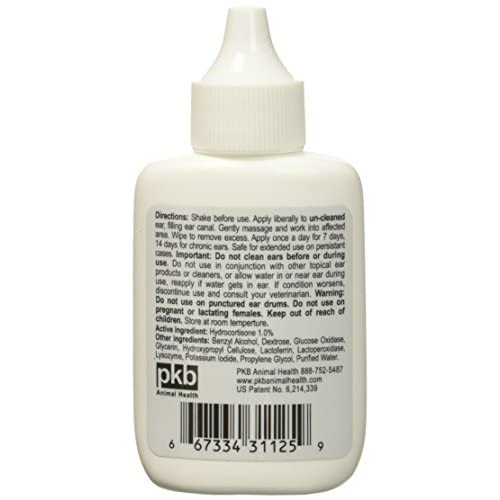 2 Pack Zymox Otic With 1.0 Hydrocortisone 1.25 Oz Bottle