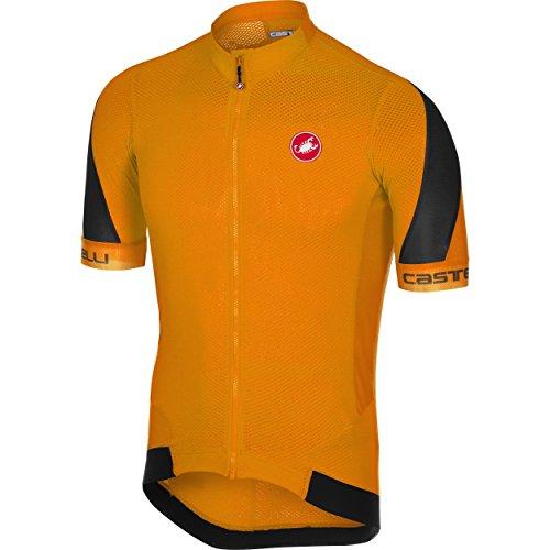 Castelli Volata 2 Jersey - Men's Orange/Black, ()