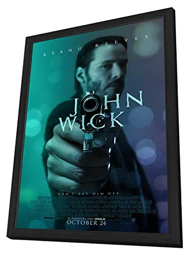 John Wick 27x40 Framed Movie Poster (2014) by Pop Culture Graphics