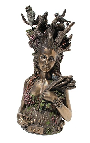- Gaia the Greek Primordial Goddess Of Earth Cold Cast Bronze