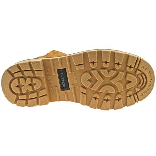 Grafters - Calzado de protección para hombre Honey Nubuck