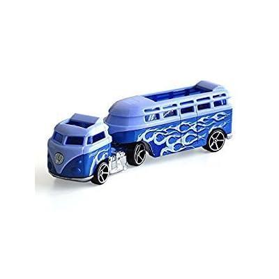Hot Wheels Track Stars Custom Volkswagen Hauler Die-Cast: Toys & Games