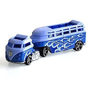 Hot Wheels Track Stars Custom Volkswagen Hauler Die-Cast
