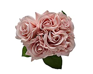 Rose Flowers Artificial Plants Bridal Wedding Party Decor Bouquet Real Touch Artificial Flowers
