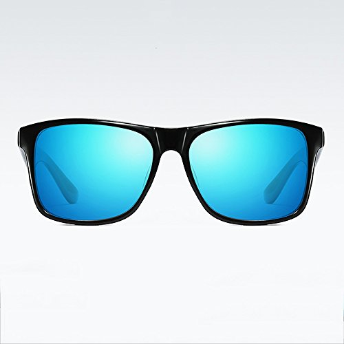 SEEKSUNG® de Soleil Mode Soleil Classique de Nuit Lunettes polarisées Bleu Lunettes Mode Soleil Mode Bleu Verre de Rétro Sport rXqr0xZA
