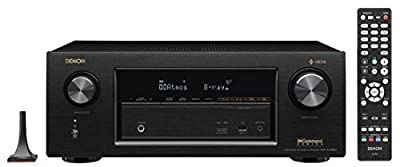 Denon AVRX2400H 7.2 Channel AV Receiver with Built-in HEOS wireless technology