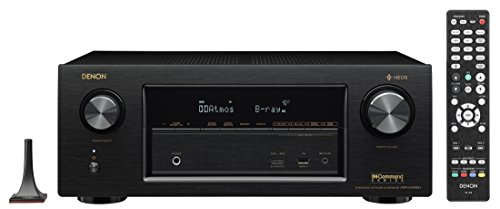 Denon AVRX2400H 7.2 Channel AV Receiver with Built-in HEOS wireless technology, Works with Alexa (Discontinued by Manufacturer)