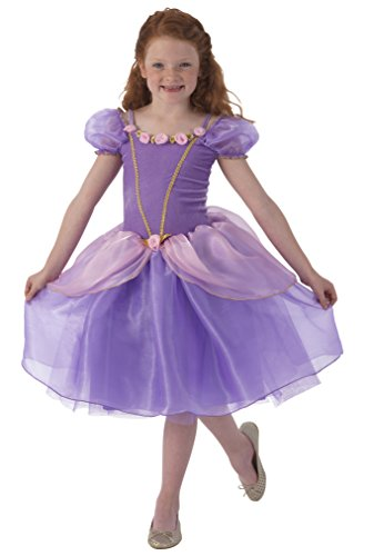 KidKraft Purple Rose Princess Dress Up Costume - L