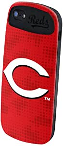 Forever Collectibles IPHNMBPTV5CR Cincinnati Reds Hard Protective AI5 Cover - Digital Design - Retail Packaging