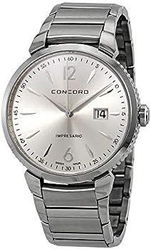 Concord Impresario Silver Dial Men's Watch