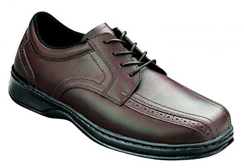 Orthofeet Men's Gramercy 466,Cordovan Full Grain Leather,US 7 M