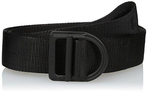 Blk Range - Tru-Spec Range Belt, 24-7 blk 2-Ply Color Matched Bckl, Black, Medium