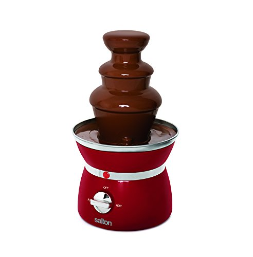 Salton SP1499 Fondue Tower, Red