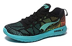 ONEMIX Men's Outdoor Air Chusion Sport Running Shoes (7, Carbon soot month)